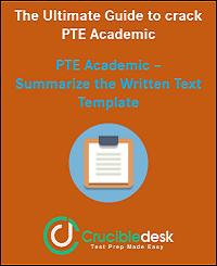 PTE Academic SWT Template Crucibledesk